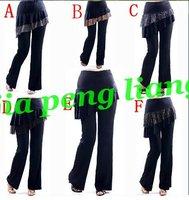 Wholesale New Latin Dance Dancerwear Women's  Dancerwear Training Pants 6 Style 20pcs/lot Free Shipping