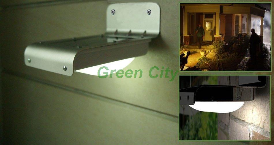 Hot! FREE SHIPPING Solar Powered LED Light with Motion Sensor ...