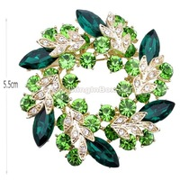 Christmas gift !HOT HOT SALES ,Fashion Brooches ,Korean Brooches ,flower brooch,Fashion crystal  Brooches, scarf clip Brooches