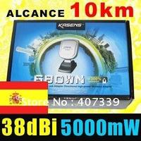 KASENS 680wn wireless Mini USB 150Mbps IEEE 802.11b/g/n adaptador adaptateur wifi High power 38dbi 5000mW