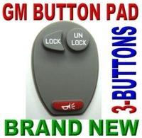 BRAND NEW GM KEYLESS ENTRY REMOTE FOB REPLACEMENT CLICKER RUBBER BUTTON PAD 3BTS