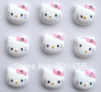 Wholesale - 500pcs Hello kitty DIY Charms Jewelry Making   Free Shipping