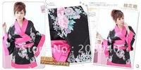 2012 Hot Sell Lingerie Sexy Kimono Cheongsam Exotic Apparel Costumes