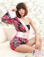 Sexy Babydoll Kimono Cheongsam Costume Kits