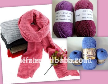competitive price have stock alpaca wool blended yarn