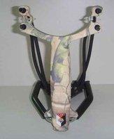 Free Shipping Wrist Holding Sling Shot Slingshots High Velocity Hunting,camping slingshot, Torch special fixture slingshot