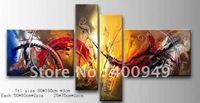 Free Shipping!!High Quality Modern Abstract Oil Painting on Canvas Art home decoration christmas gift 563 picture on wall