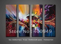 Free Shipping!!High Quality Modern Abstract Oil Painting on Canvas Art home decoration christmas gift 512 picture on wall