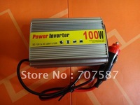 Power Inverter Car Adapter USB 100W DC12V to AC220V USB with good  Vehicle power supply