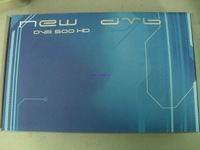 DVB 500HD. Cool packing, SOLD hot. stock for you, easy clear custom,