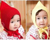 toddler baby hat for autumn-winter, latest fairy design infant hat, crochet toddler baby hat