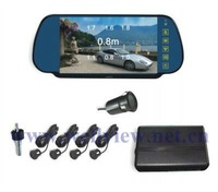 Auto Parking Sensor System with 7inch Mirror Monitor