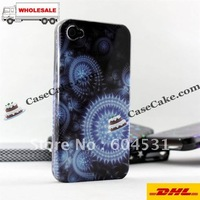 Hot sale!Wholesale   Back cases for iPhone4G 4S,Double cases for iPhone4G 4S +Hongkong post free shipping
