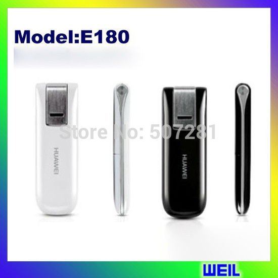 unlocked HuaWei E180 HSUPA/HSDPA Modem 3G high quality modem WEIL(China (Mainland))