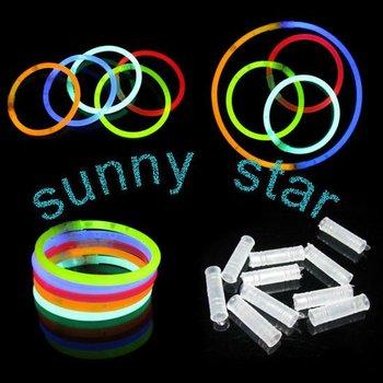 Free shipping wholesale 300pcs/lot Glow Sticks Bracelets+LEd led flashing lighting wand+party gifts
