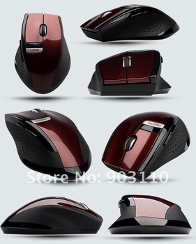 2012 mice free shipping Slim 2.4GHz Rapoo 3200 USB Wireless mouse PC Optical mouse Mini Adapter bluetooth Wireless mouse