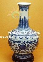 Old chinese qing period qianlong ceramic vase