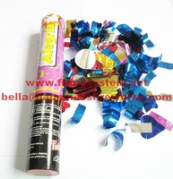 Free shipping+ 100pcs/lot  30cm Hand-hold foil Confetti (CE Passed, )