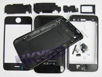 Black Full Housing Cover Case For iPhone 3G 8GB/16GB CA004(China (Mainland))