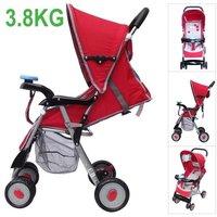 100% original Brand New,Red Urltra Light Doll stroller/Doll pram for the little children, portable folding carts