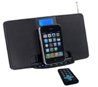 FM docking station  fit to ipod /for iphone peaker with remote conttrol hot sale quick delivery