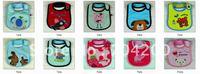 50pcs/lot-more than 100 Deisgns Name brand Baby bibs/Kids waterproof bib/Infant&Toddler Cotton Bibs
