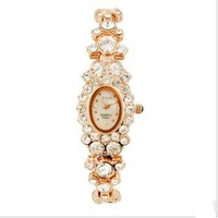 Watch 2011 new drilling female with female bracelet watch female fashion table set auger female table fashion