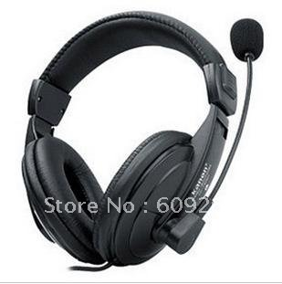 Manufacturers selling earphones game stereo headset microphone computer with wire control