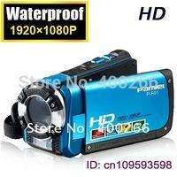 Professional 16MP Waterproof camera digital 3.0 inch FTF screen 1080P HD Waterproof  Digital Video Camcorder