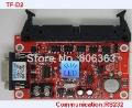 TF-D2 LED display control card,support P10 full color signature,Large Serial 232 communication controller(China (Mainland))