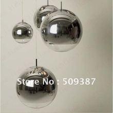 Best Selling Mirror Ball Lamp TOM DIXON style Energy Saving Pendant Lamps(China (Mainland))