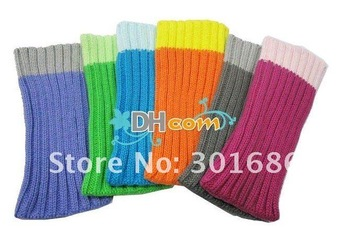 Sock Sleeve Cloth knit Cover Bags for most mobile phone mp3 mp4 180pcs/lot free shipping