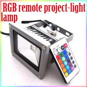 2Year Guarantee10W high power RGB Remote Control Flood Wall Wash Light led flood light outdoor floodlight(China (Mainland))