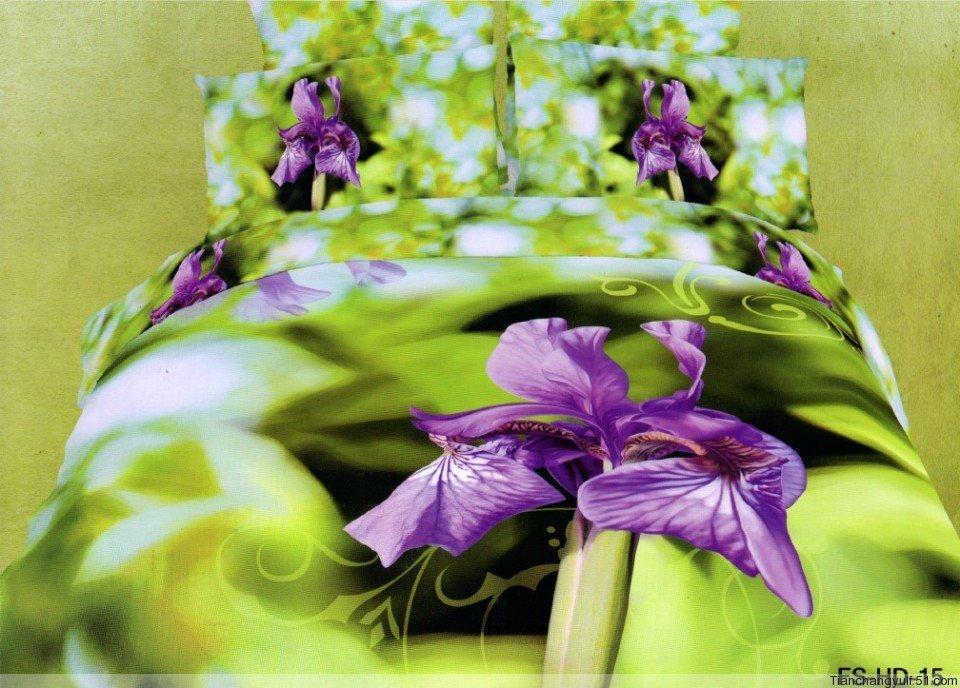 Natural Design Pattern Natural Design Cotton Purple