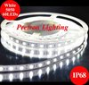 Wholesale&Retail 5050 SMD High Quality Flexible LED Strip Light White IP68,60LEDs/m,Totally 300pcs,72W(14.4W/M),Free shipping