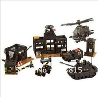 Building blocks / toys / Army Headquarters B7100