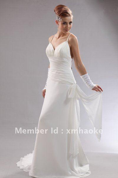 B0229 Unique Sexy Backless Wedding Dresses