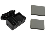 2x Battery + Charger for CANON NB5L NB-5L IXUS 950 960 870 860 850 800 90 990 980 900 970 IS Ti SX200 SX210 IS SX220 SX230 HS