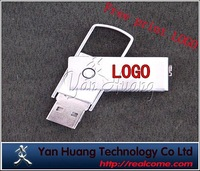 Metal rotation Usb Flash Memory,usb drive U disk,pen dirves(Free print LOGO)
