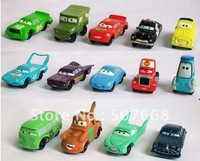 100set Pixar Car Figures Full Set PVC NEW 14 pcs Free shipping High Quality for Gift