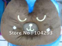 Hot sell Christmas gift Free shipping 5pcs/lot bear music pillow