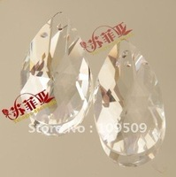 EMS Free Shipping,38mm Clear Crystal Chandelier Prism  Crystal Beads Jewelry Accessories