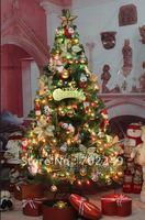 fashion 1.8m fiber Christmas tree, luminous tree with 86 accessories 005