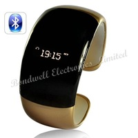 Newest - Ladies Bluetooth Fashion Bracelet with Time Display - Brown (Call/Distance Vibration, Caller ID),Free Shipping