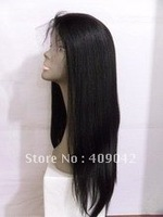 100% Indian remy hair ,18inch best quality full lace wig