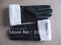 Ladies' Shearling Mittens,Sheepskin Mittens, gloves