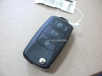 new for Brazil Positron Ex300 car alarm remote key (VW 3 button style) 433.92mhz  remote duplicator