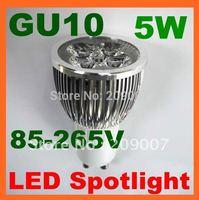 NEW GU10 5W LED Bulb Power Spot Light Warm PURE COLD White 85-265V Energy Saving 110/220V Lamp & E27 MR16 E14