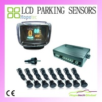 20% offer free shipping 8 Car LCD Reverse Parking Sensors 8 Front 4 Rear Buzzer