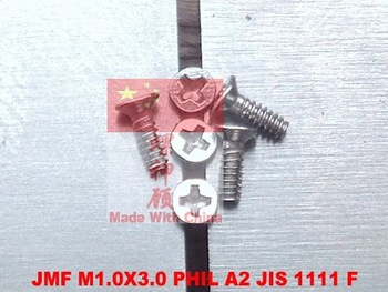 screws M1.0X3 PHIL A2 Flat